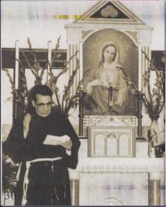 BEATO GABRIELE M. ALLEGRA E L'IMMAGINE DEL CUORE IMMACOLATO DI MARIA CHE TANTO AMAVA